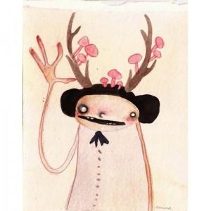 Antlers #7 - print