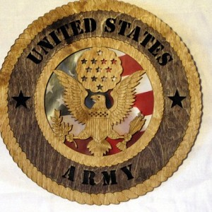 Army Wall Plaque