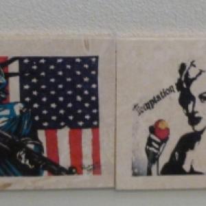 Marilyn Monroe Drinking Coasters