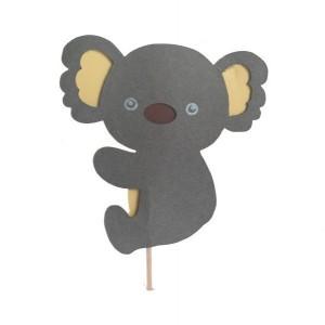 Koala Bear Cupcake Toppers