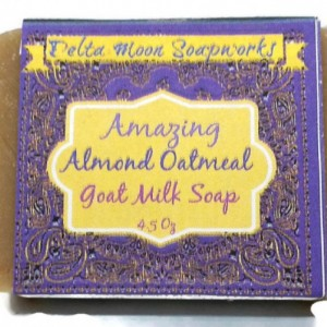 Oatmeal Goat Milk Soap 4 bars- dry skin, sensitive skin, Olive oil soap, gift soap, eco friendly, palm-free, sulfate free, itchy skin, mild