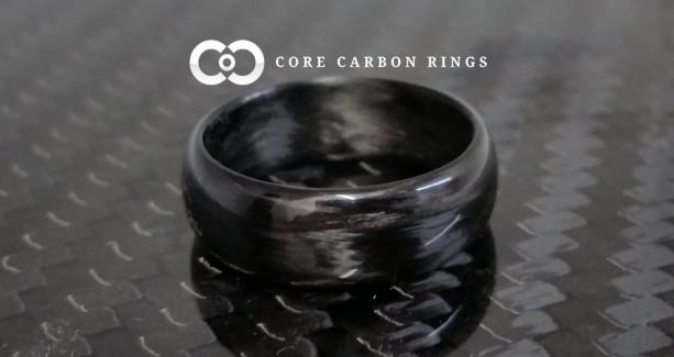 Carbon Fiber Legacy Gloss Ring