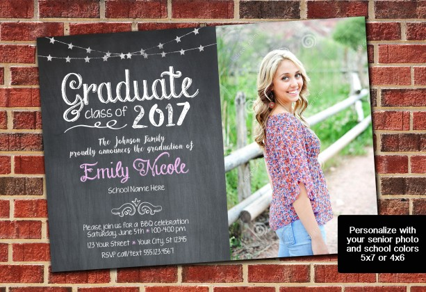 High School / College Graduation Invitation