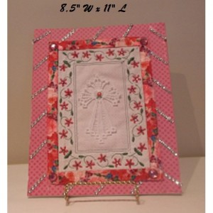 machine embroidery fsl angel