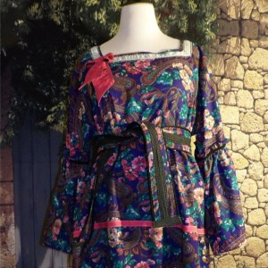 Paisley Caftan Dress