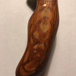 Lacewood knife handle