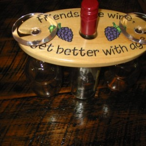 Wine Caddy - Friends like wine get better with age