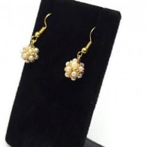 Pearl Bead Earrings