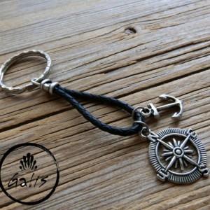 Men's Accessories - Men's Keychain - Men's Key Holder - Men's Gift - Boyfriend Gift - Husband Gift - Present For Men - Male Accessories