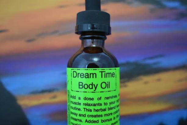 Dream Time Body Oil- Raw & Organic-2 Oz.