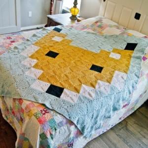 Farmhouse Fox blanket, Fox blanket, blanket, afghan, throw, nursery, farmhouse