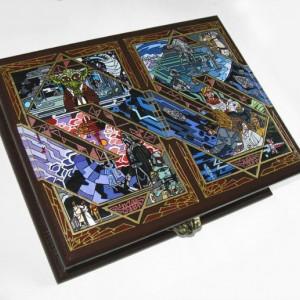 Empire Strikes Back box- unique & hand-painted