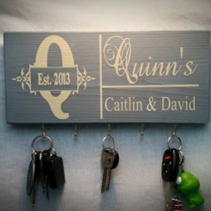 Key Holder, Mother's Day Gifts, Personalized Key Holder, Keys Holder, Mother's Day, Key Rack, Wall Key Holder, Hanging Key Sign, Keys