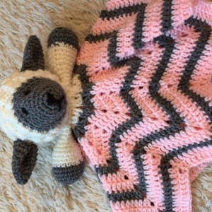 Sheep Lovey Baby Blanket. Comfort Blanket, Security Blanket, Baby Shower Gift