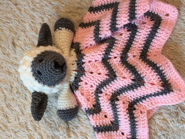 Sheep Lovey Baby Blanket. Comfort Blanket, Security Blanket, Baby Shower Gift