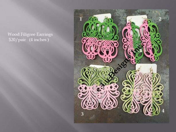 Filigree earrings