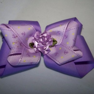 Handmade Ribbon Bow Barrette