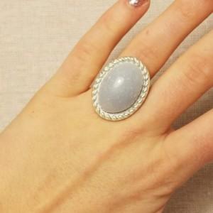 Faux Blue Gemstone