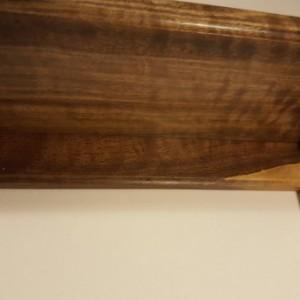 Black walnut shelf