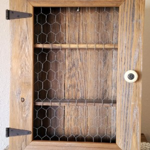 Country Cabinet, Rustic Spice Cabinet, Chicken Wire. Bathroom Storage, Country Kitchen Cabinet