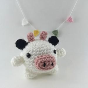 Mini amigurumi cow, amigurumi cow, crochet cow, tiny cow, cow,kawaii, small cow, cow plush, cow plushie, under 15, moo, farm