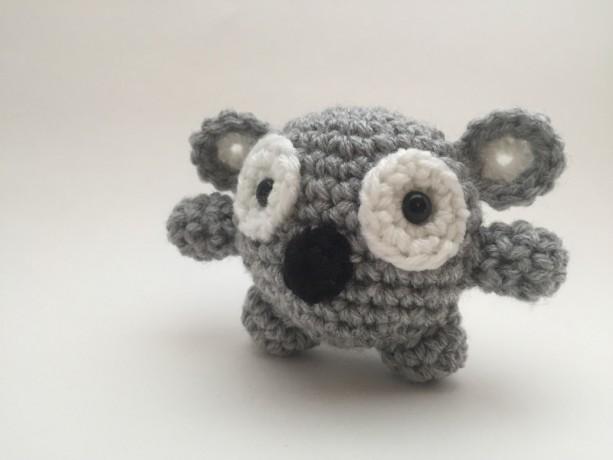 Handmade Crochet Koala Bear Aftcra