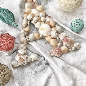 Small Seashell Letter