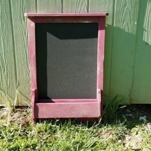 Chalk Board, Dry Erase Board, mail holder, key chain holder, entryway organizer, key ring holder, Mail organizer