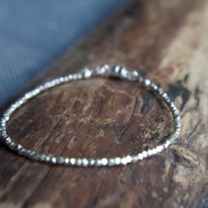 Hill Tribe Silver bracelet - Tiny bracelet - Delicate bracelet - Thai Hill Tribe Silver minimalist bracelet - Everyday modern bracelet
