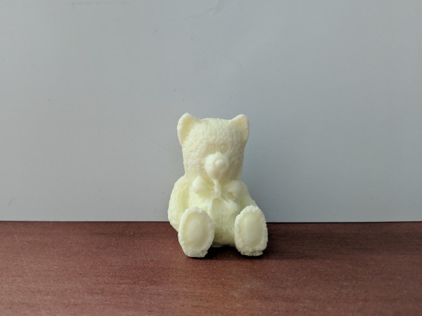 Teddy Bear Decorative Soap  - set of 8 - Yellow