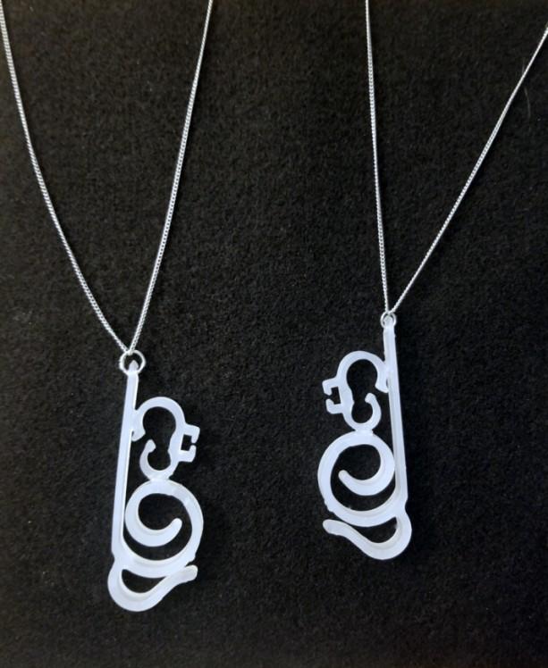 Elegant Swirl Necklace