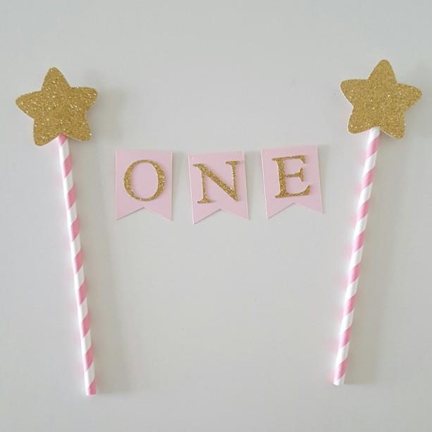 One Cake Topper Twinkle twinkle little star cake topper star ca