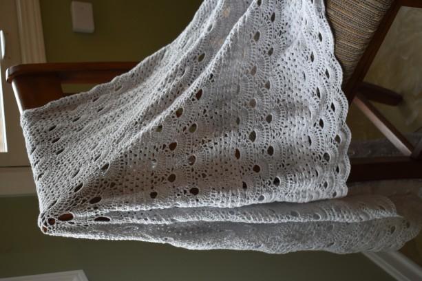 Hand Crocheted Women's Oversized Shawl
