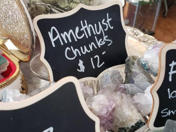Amethyst chunks