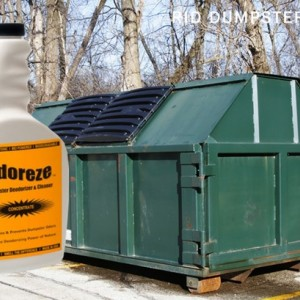 ODOREZE Natural Dumpster Odor Eliminator & Cleaner: 32 oz. Concentrate Makes 128 Gallons