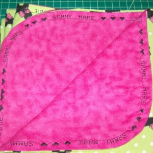 One purple fox PERSONALIZED  baby name blanket shower gift Large Flannel baby girl Blanket nursery baby girl toddler  swaddle purple