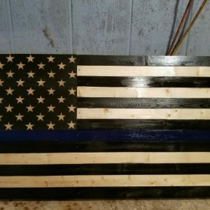 Blueline Flag
