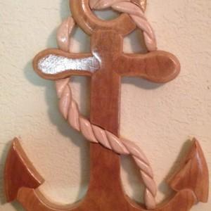 Intarsia anchor