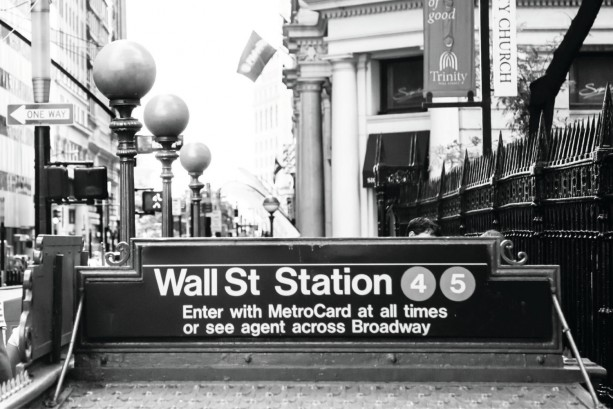 "Finance Art, Wall Street Art, ""Wall Street Station"""