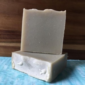 2 Bars Hippie; Sandalwood + Patchouli Scented Handmade Cold Process Bar Soap 98.7% Natural & Vegan