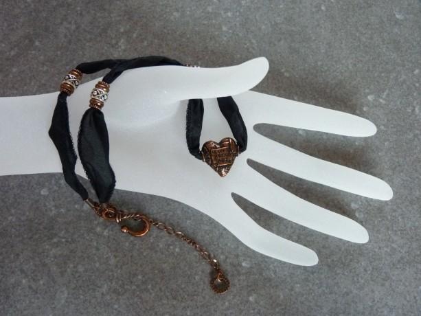 Unbreakable Heart Pewter Pendant