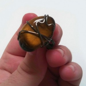 Tiger's Eye Ring
