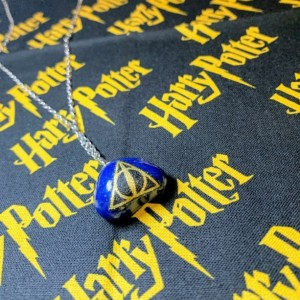 Harry Potter Deathly Hallows House Necklaces