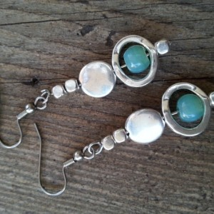 Silver Seas Earrings