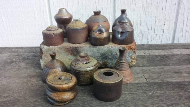 WHOLESALE - Small Pottery Jars - Gift Shop - Bridesmaids Gifts