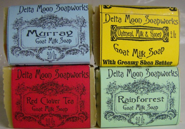Rainforrest, Red Clover Tea, Jasmine Soap, Oatmeal Milk & Honey Mini Soaps, Goat Milk Soap,travel soap, Oatmeal soap,  mild soap, Mini Soap