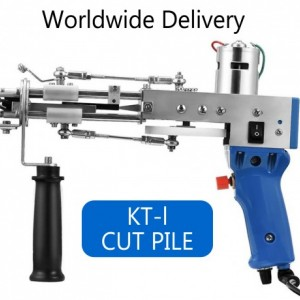 Cut Pile Tufting Gun, KT-l Carpet Weaving Machine, Flocking Machine, Industrial Embroidery Machine, Loop Pile Knitting Machine