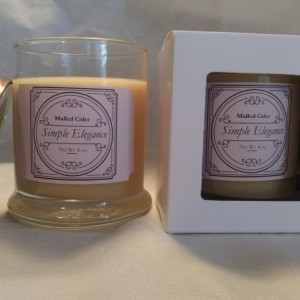 Simple Elegance Scented Jar Candle