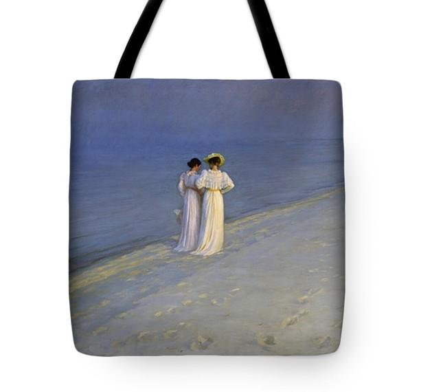 Summer Evening Tote Bag