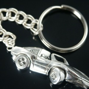 Ferrari    key chain sterling silver